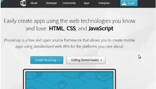 HTML5,7个移动开发框架